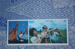 Sport. RUSSIA. Archery -  1978 Postcard - Tir à L'Arc