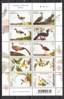Singapore 2002.10V In Sheetlet,birds,vogels,vögel,oiseaux,pajaros,uccelli,aves,MNH/Postfris(L2489) - Unclassified