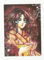 Cp , Bandes Dessinées , MANGA , Ed : Cartoonist Factory , 2000 , Vierge , Illustrateur : Cathy Delanlssays - Bandes Dessinées