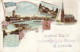 RUSSIA-GRUSS DA RIGA PER L'AUSTRIA DEL 1898 - Russia