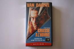 Cassette Video CHASSE A L'HOMME - Action, Aventure