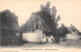 80-SAINT-VALERY-SUR-SOMME - VIEILLES CHAUMIERES - Saint Valery Sur Somme