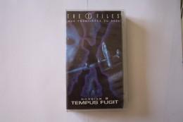 Cassette Video THE X FILES DOSSIER 8 TEMPUS FUGIT - Sciences-Fictions Et Fantaisie