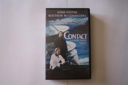 Cassette Video CONTACT - Sciences-Fictions Et Fantaisie