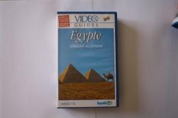 Cassette Video EGYPTE L'HISTOIRE AU PRESENT - Documentaires