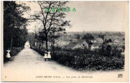 18 SAINT-AMAND - Vue Rpise De Montrond    (Recto/Verso) - Saint-Amand-Montrond
