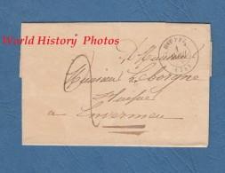 Enveloppe Ancienne De 1839 - DIEPPE - Envoyé à ENVERMEU - France