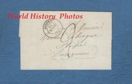 Enveloppe Ancienne Avec Courrier De 1839 - DIEPPE ( 74 ) - Envoyé à ENVERMEU - France