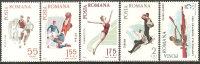 Romania 1965 Nuovo** - Mi.2452/56  Yv.2170/74 - Nuovi