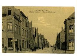 18058  -   Nieuport  1923    -    Duinkerkestraat   -   Rue De Dunkerque - Nieuwpoort