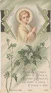 Ayez Confiance Voici Le Divin Enfant Jésus Qui Vient à Vous - St-François De Sales - Devotion Images