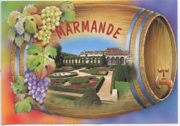 Marmande (n°157 As De Coeur) Tonneau Barrique Vin Vigne - Marmande