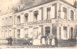 80-SAINT-VALERY-SUR-SOMME -HÔTEL DE LA COLONNE DE BRONZE - Saint Valery Sur Somme