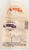 MARIANNE DECARIS SUR ENVELOPPE PUB FROMAGE GROS JEAN LONS LE SAUNIER / DISQUE PETITE FLEUR SYDNEY BECHET - 1921-1960: Periodo Moderno