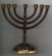Chandelier 7 Branches Israëlite Jerusalem - Religione & Esoterismo