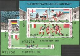 Romania 1988 BF Nuovo** - Mi.241/2  Yv.195/6 - Blocchi & Foglietti
