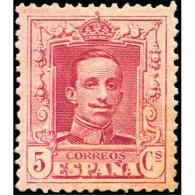 ES312STV-LFT***312S.España.Spain. Espagne.REY ALFONSO Xlll.VAQUER .1922/30.(Ed 312**)  Sin  Charnela - Unused Stamps