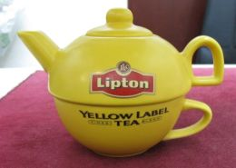 AC - LIPTON TEA PORCELAIN TEAPOT & CUP BRAND NEW FROM TURKEY - Teapots