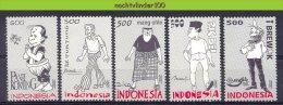 Mgm2059 STRIPFIGUREN COMICS CARTOONS PANI KOMING MANG OHLE PAK BEI PAK TUNTUNG INDONESIA 2000 PF/MNH  VANAF1EURO - Fairy Tales, Popular Stories & Legends