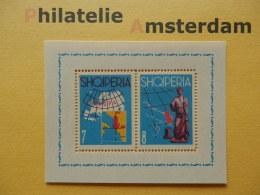 Albania 1962, EUROPA / MAPS / APOLLO STATUE: Mi 687-88, Bl. 13, ** - Europese Gedachte