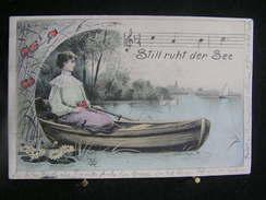 W-503 / La Carte A Circulé De Lontzen à Eynatten -  -  Still Ruht Der See /  1905 - Lontzen