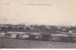 CARTE POSTALE   Vue Panoramique De La Gare CHAVILLE-Invalides - Chaville