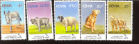 MINT NEVER HINGED SET OF STAMPS ANIMALS - WILDLIFE  # S-577   ( KENIA   637-41 - Briefmarken