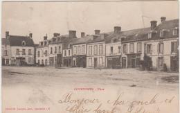 COURTOMER LA PLACE PRECURSEUR 1904 TBE - Courtomer