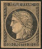 No 3b, Fortes Charnières Mais TB - 1849-1850 Ceres