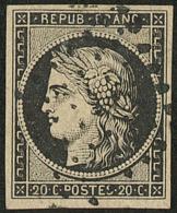 No 3, Obl Losange D'annulation. - TB - 1849-1850 Ceres