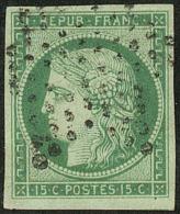 No 2b, Un Voisin, Obl étoile. - TB. - R - 1849-1850 Ceres
