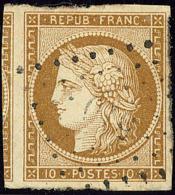 No 1b, Un Voisin, Obl Pc, Jolie Pièce. - TB - 1849-1850 Ceres