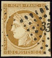 No 1b, Un Voisin, Jolie Pièce. - TB - 1849-1850 Ceres