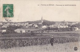 CARTE POSTALE    Panorama De  SAINT GEORGES 17 - Francia