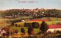 LANGRES  Vue Générale Carte écrite En 1917  2 Scans  TBE - Langres