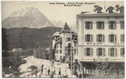 SCHULS-TARASP Hotel Restaurant Helvetia, Morandi-Berger - GR Grisons