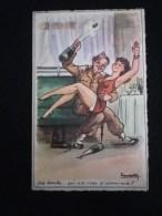 FEMME SEXY PIN-UP ESCARPINS ILLUSTRATEUR LASSALVY MILITAIRE - Lassalvy