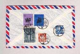 China Luftpost Brief Nach Winterthur - Lettres & Documents