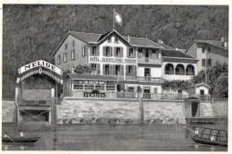 MELIDE  -  HÔTEL PENSION - SCHIFFLÄNDE -  PROPRIETAIRE - SCHOCH-NIEDERMANN -  Juin 1933 - TI Ticino