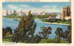 USA - Oakland - Lake Merritt And Lakeside Park (toilée) - Oakland