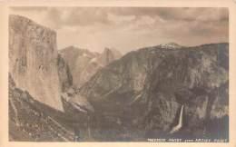 USA - Yosemite Valley From Artist Point (R. P.) (carte Photo) - Yosemite