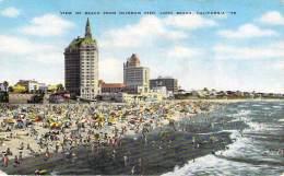 USA - Long Beach - View Of Beach From Rainbow Pier - Long Beach