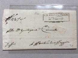 ITALIA  VICENZA   1840.   PRETURA URBANA  DI VICENZA - Italia