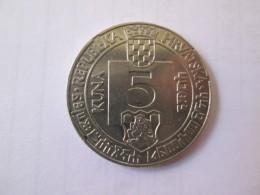 CROATIA 5 Kuna 1994 Glagoljica Of Senj 500 Years Anniversary 1494 - 1994  # 4 - Croatia