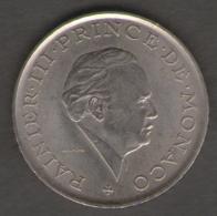 MONACO 2 FRANCS 1979 - Monaco