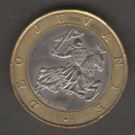 MONACO 10 FRANCS 1989 BIMETALLICA - Monaco