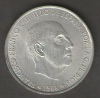 SPAGNA 100 PESETAS 1966 AG SILVER - [ 5] 1949-… : Regno