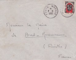 Algérie - Lettre - Algeria (1924-1962)