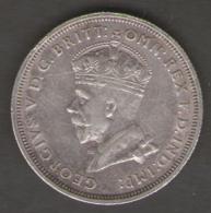 AUSTRALIA FLORIN 1923 AG SILVER - Moneta Pre-decimale (1910-1965)