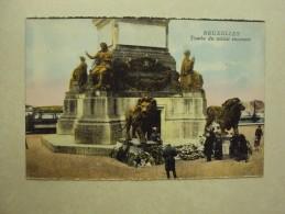 26116 - BRUSSEL - BRUXELLES - TOMBE DU SOLDAT INCONNU - ZIE 2 FOTO'S - Monuments